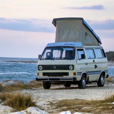 Combi Vw T3 Diesel – Bretagne – Quimper – Finistère – Van aménagé 4 ceintures 5 couchages
