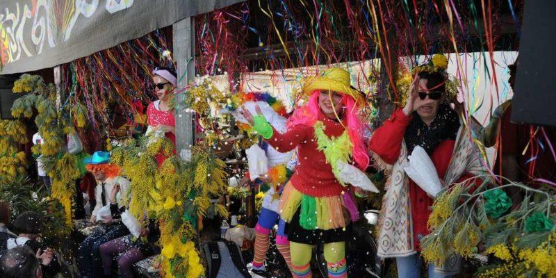 fête des mimosas Saint Trojan les Bains
